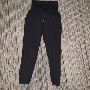 Athleta black joggers (size small)